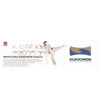 MOOTO DOBOK OFICIAL KUKKIWON